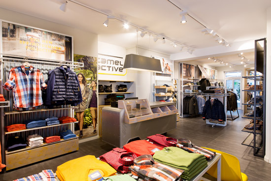 Camel Active Store